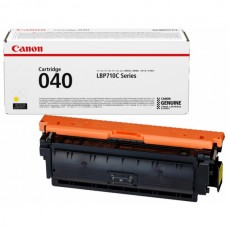 Картридж CANON 040 Y Yellow (i-SENSYS LBP712Cx) 5,4К