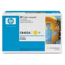 Картридж HP Color LaserJet CB402A Yellow Print Cartridge for CLJ CP4005, up to 7,500 pages