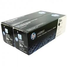 Картридж HP LaserJet P1505/M1120/1522 Black Print Cartridge двойная упаковка (Dual Pack)