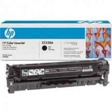 Картридж HP Color LaserJet CC530A, черный