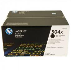 Картридж HP Color LaserJet CE250XD Dual Pack Black Print Cartridge with ColorSphere Toner (двойная упаковка)