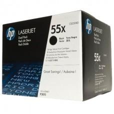 Картридж HP LaserJet CE255X черный двойная упаковка (Dual Pack)