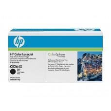 Картридж чёрный HP Color LaserJet CE264X (увеличенного объема) для CM4540 MFP 17000 копий