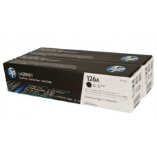 Kартридж Hewlett-Packard HP 126A Black LaserJet (CE310AD) для принтеров HP LaserJet PRO CP1025/CP1025NW двойная упаковка