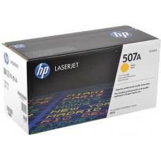 Картридж с тонером HP 507A LaserJet, желтый для CLJ Color M551 series