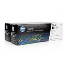 Kартридж Hewlett-Packard HP 305X Black LaserJet (CE410XD) для HP CLJ Color M351/M451/MFP M375/MFP M475 двойная упаковка