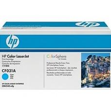 Картридж голубой HP Color LaserJet CF031A для CM4540 MFP 12500 копий