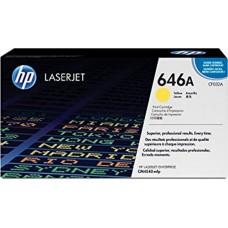 Картридж желтый HP Color LaserJet CF032A для CM4540 MFP 12500 копий