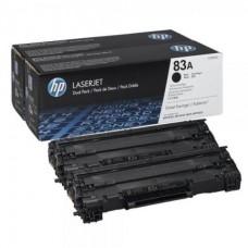 Картридж HP 83A Black 2-pack LaserJet Toner Cartridge (CF283AF) стандартной емкости