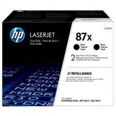Картридж HP 87X Black 2-pack LaserJet Toner Cartridge (CF287XF) увеличеной емкости