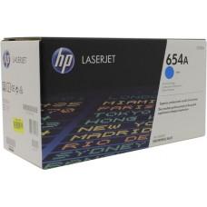 Kартридж Hewlett-Packard HP 654A Cyan LaserJet (CF331A)