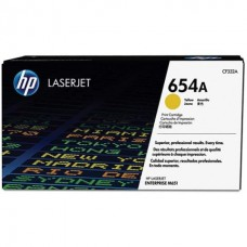 Kартридж Hewlett-Packard HP 654A Yellow LaserJet (CF332A)