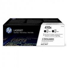 Картридж HP 410X Black 2-pack LaserJet Toner Cartridge (CF410XD) увеличеной емкости