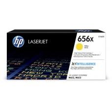 Картридж HP 656X High Yield Yellow для HP CLJ M652/M653 (CF462X) 22000 стр