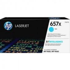 Картридж HP 657X High Yield Cyan для HP CLJ MFP M681/M682 (CF471X) 23000 стр