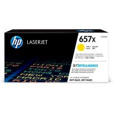 Картридж HP 657X High Yield Yellow для HP CLJ MFP M681/M682 (CF472X) 23000 стр