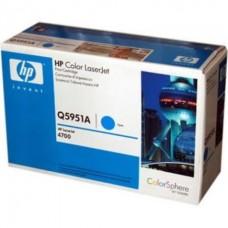 Картридж Hewlett-Packard для CLJ 4700  (синий)