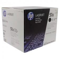 Картридж HP (2-я уп) чёрный для принтеров Laser Jet P3005/M3035mpf/M3027mpf up to 13000 pages