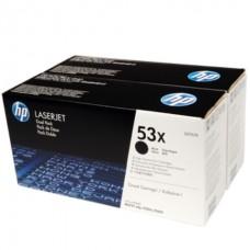 Картридж HP (2-я уп.) чёрный для принтеров Laser Jet P2015 up to 7000 pages