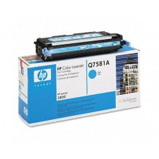 Картридж  Hewlett-Packard Color LaserJet Cyan для принтеров CLJ 3800/CP3505