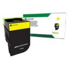 Картридж Lexmark с тонером жёлтого цвета в рамках программы возврата (CS/CX 317, 417, 517)