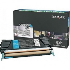 Картридж Lexmark C524 Return Cyan High Yield, 5K