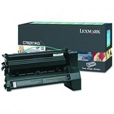 Картридж Lexmark C782 Черный 15K RETURN PROG